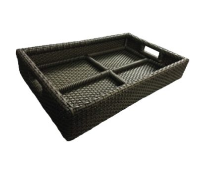 [:en][:th]ถาดวางของ[:][:en]Synthetic Rattan Tray[:][:]