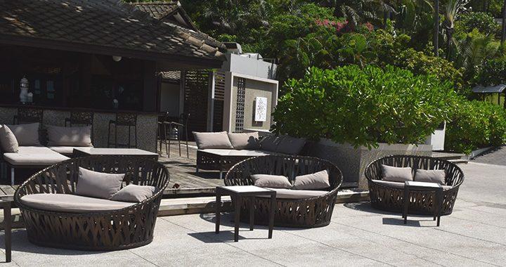เฟอร์นิเจอร์หวายเทียม เนเจอคอนเนอส์ เมอร์เคียว เกาะสมุย บีช รีสอร์ท Mercure Koh Samui Beach Resort
