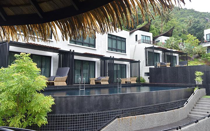 เฟอร์นิเจอร์หวายเทียม เนเจอคอนเนอส์ เดอะธนา อะไลน์ รีสอร์ท The Tarna Align Resort