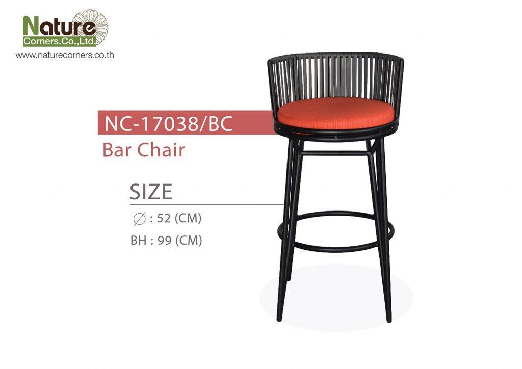 NC-17038/BC - Bar Chair