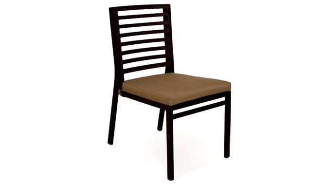 เฟอร์นิเจอร์อลูมิเนียม เก้าอี้อลูมิเนียม AL13014-SC
