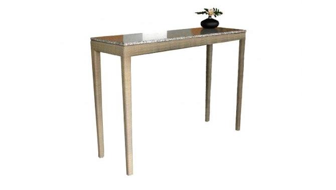 เฟอร์นิเจอร์หวายเทียม Bar Table TF0705BT