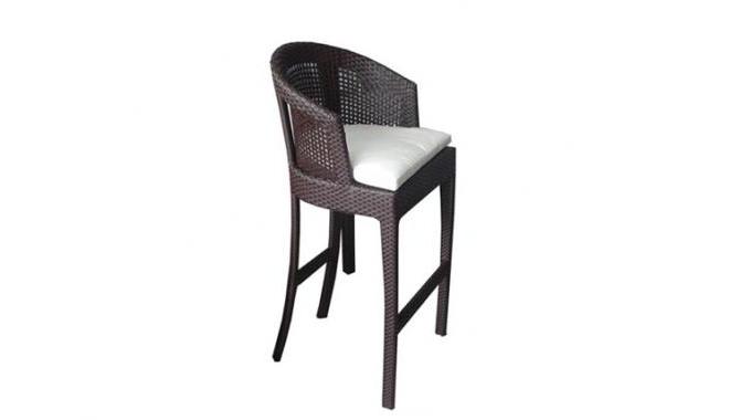 เฟอร์นิเจอร์หวายเทียม Bar Chair TF0812BC