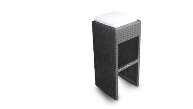 เฟอร์นิเจอร์หวายเทียม Bar Chair TF0899BS