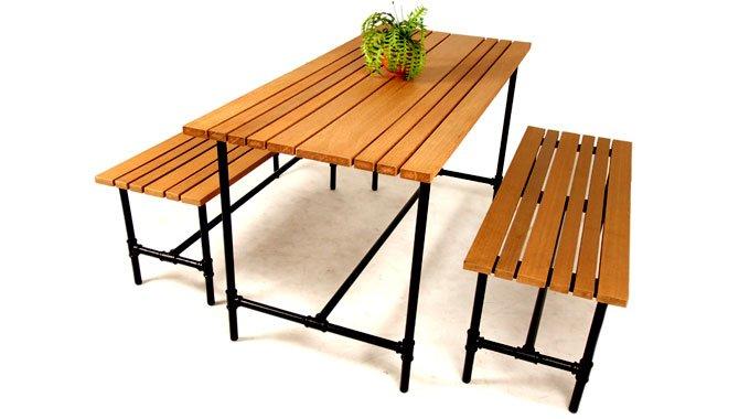 เฟอร์นิเจอร์ไม้เทียม Dining Set W13005