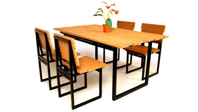 เฟอร์นิเจอร์ไม้เทียม Dining Set W13015