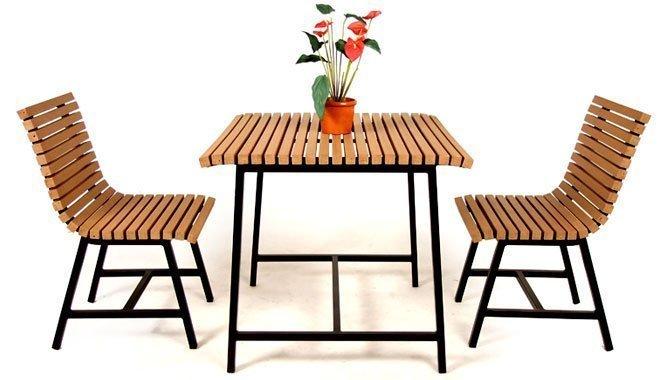 เฟอร์นิเจอร์ไม้เทียม Dining Set W13016-DININGSET