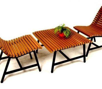 เฟอร์นิเจอร์ไม้เทียม Living&Sofa W13016-LIVINGSET