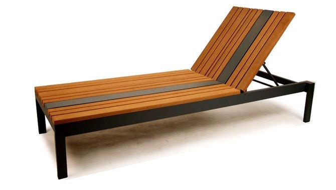 เฟอร์นิเจอร์ไม้เทียม Sun Bed W13017-C