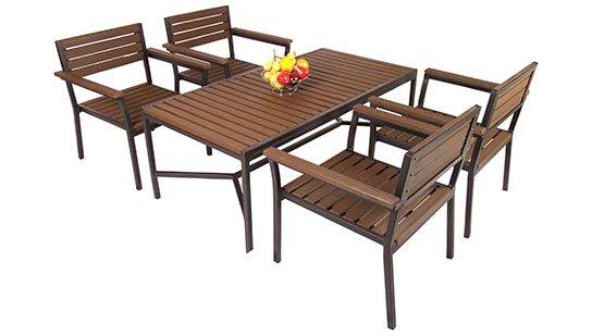 เฟอร์นิเจอร์ไม้เทียม Dining Set W13059-DiningSet