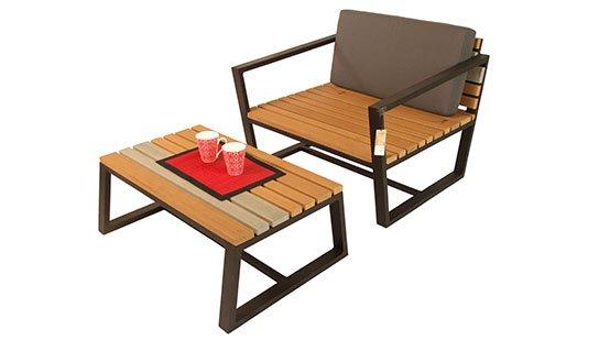 เฟอร์นิเจอร์ไม้เทียม Living&Sofa W14018-LivingSet