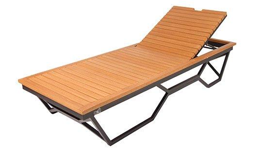 เฟอร์นิเจอร์ไม้เทียม Sun Bed W14020-C