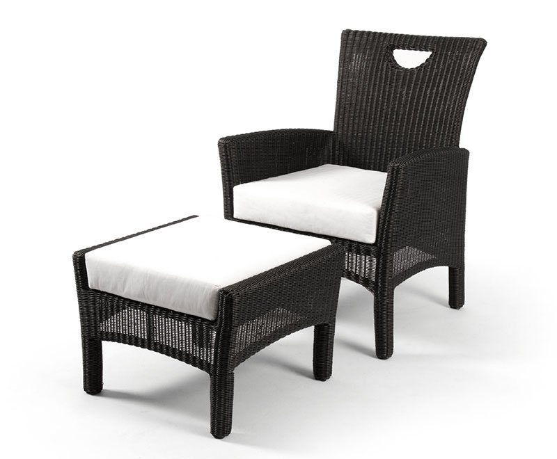 เฟอร์นิเจอร์หวายเทียม Lounge Chair Set TF008