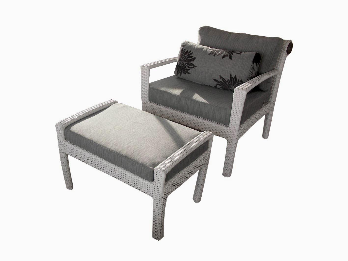 เฟอร์นิเจอร์หวายเทียม Lounge Chair Set TF0813