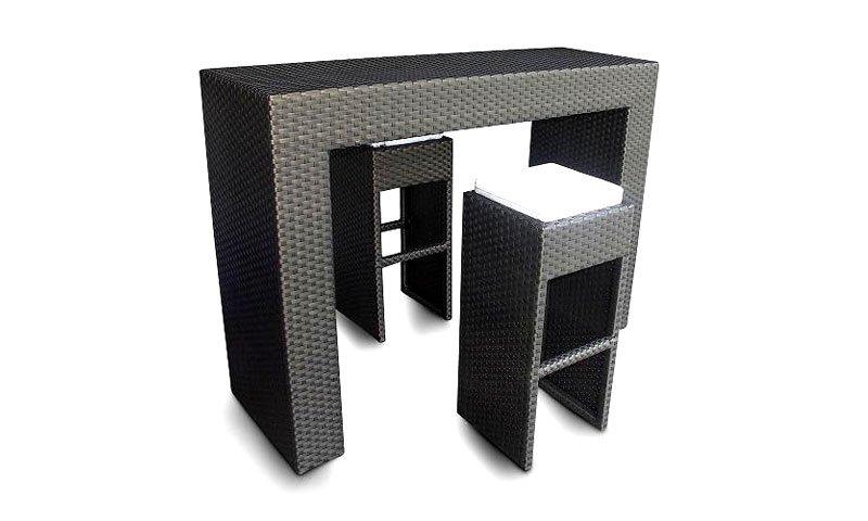 เฟอร์นิเจอร์หวายเทียม Counter Bar Set TF0899