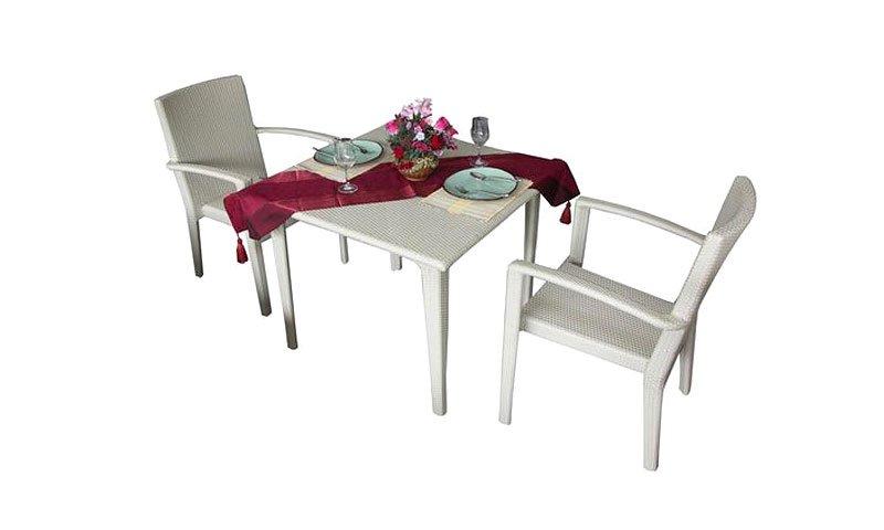 เฟอร์นิเจอร์หวายเทียม Dining Set TF1021