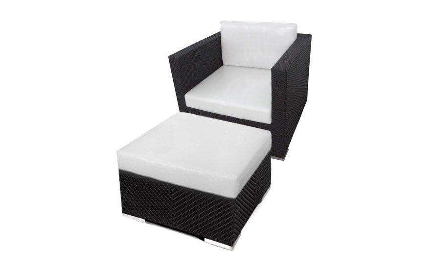 เฟอร์นิเจอร์หวายเทียม Lounge Chair Set TF1090