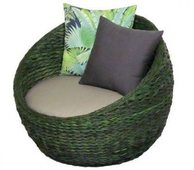 เฟอร์นิเจอร์หวายเทียม Lounge Chair NC15067LC