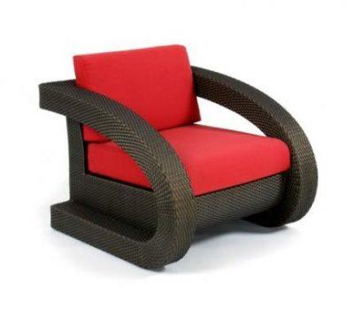 เฟอร์นิเจอร์หวายเทียม Lounge Chair TF0604LC