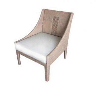 เฟอร์นิเจอร์หวายเทียม Lounge Chair TF0705LC