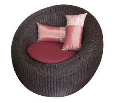 เฟอร์นิเจอร์หวายเทียม Lounge Chair TF0752LC
