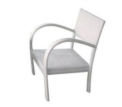 เฟอร์นิเจอร์หวายเทียม Lounge Chair TF0759DC