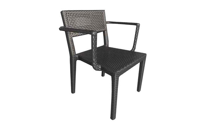 เฟอร์นิเจอร์หวายเทียม Dining Chair TF0760DC