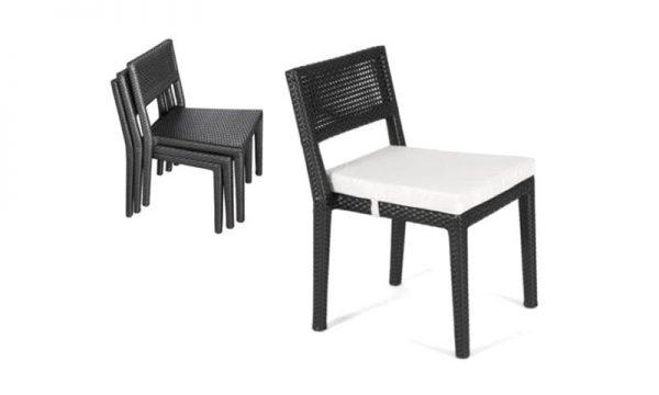 เฟอร์นิเจอร์หวายเทียม Dining Chair TF0760SC