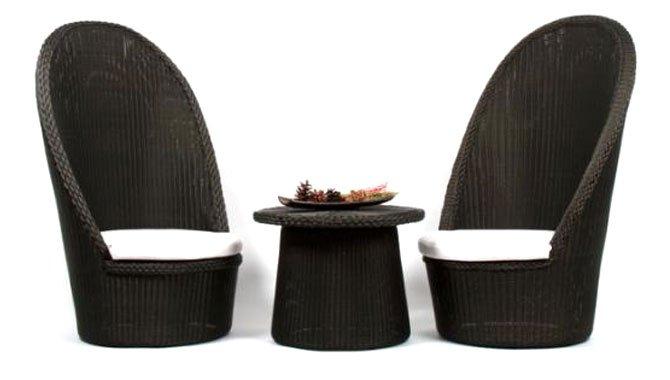 เฟอร์นิเจอร์หวายเทียม Lounge Chair Set TF0905