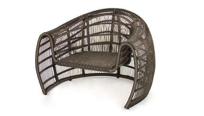 เฟอร์นิเจอร์หวายเทียม Lounge Chair TF0955LC