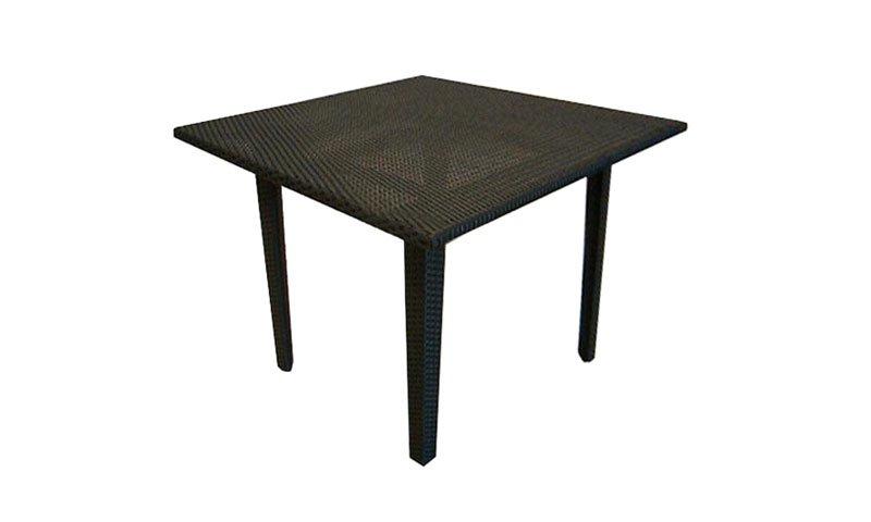 เฟอร์นิเจอร์หวายเทียม Dining Table TF1002-T90SQ