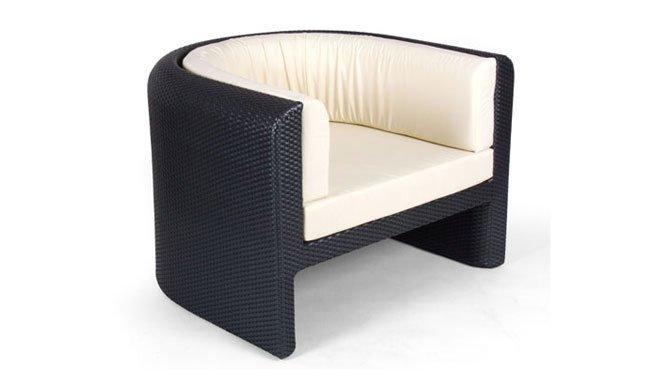 เฟอร์นิเจอร์หวายเทียม Lounge Chair TF1030-001
