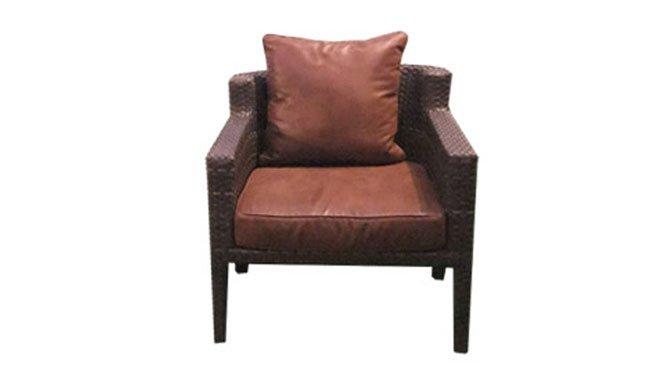 เฟอร์นิเจอร์หวายเทียม Lounge Chair TF1036LC