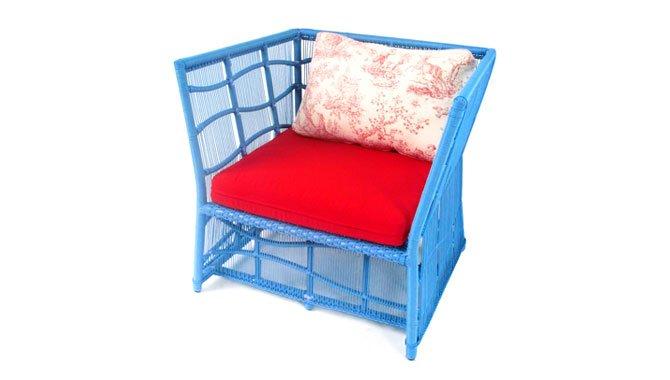 เฟอร์นิเจอร์หวายเทียม Lounge Chair TF1079LC