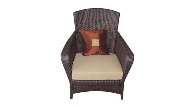 เฟอร์นิเจอร์หวายเทียม Lounge Chair TF1110-001