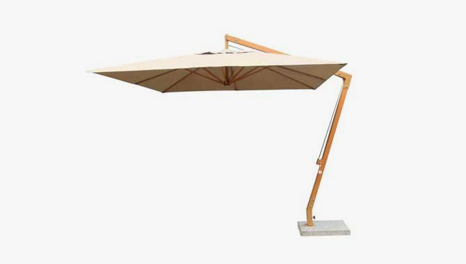เฟอร์นิเจอร์หวายเทียม Outdoor Patio Umbrella TF1121
