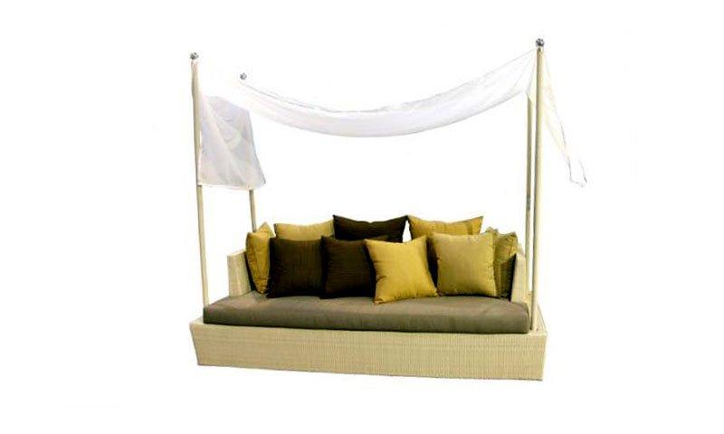 เฟอร์นิเจอร์หวายเทียม Day Bed TF0892