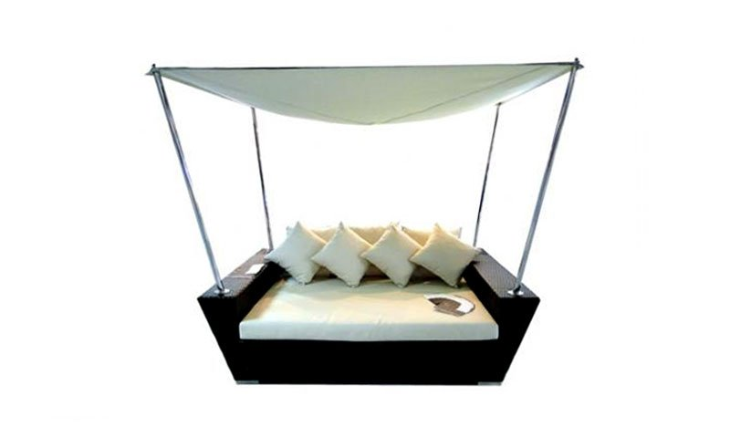 เฟอร์นิเจอร์หวายเทียม Day Bed TF0943